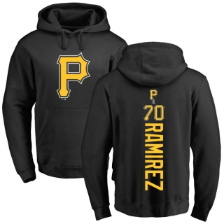 Youth Yefry Ramirez Pittsburgh Pirates Black Backer Pullover Hoodie